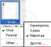 Forever ( Навсегда/Постоянно ), Once ( Однократно ), Other ( Другое )