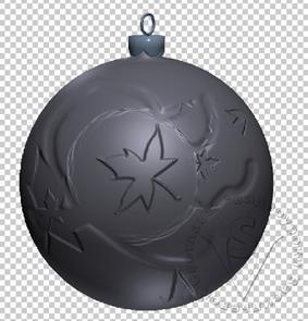 Черный цвет кисти рисует вмятины