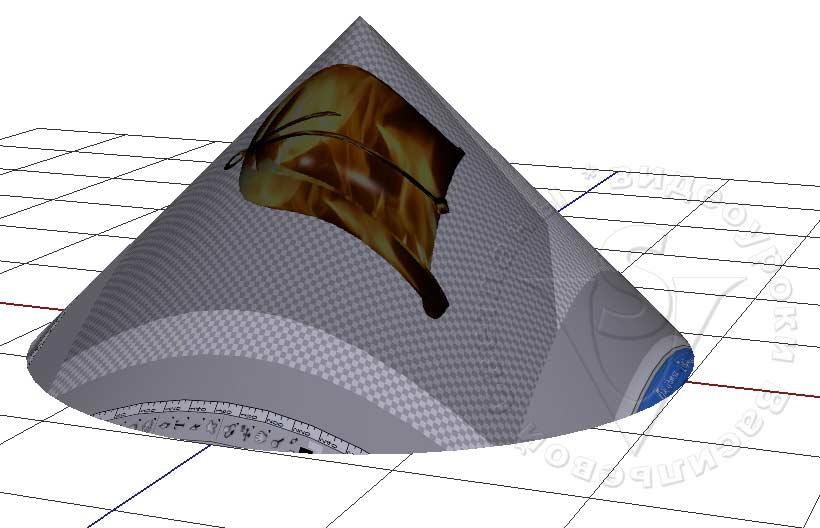 плоскость основания 3Д сцены